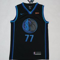 Dallas Mavericks #77 Luka Doncic City Edition Basketball Jersey
