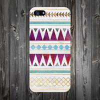 Gold x Wood x Teal x Maroon Tribal Design Case for iPhone 6 6 Plus iPhone 5 5s 5c iPhone 4 4s Samsung Galaxy s6 s5 s4 & s3 and Note 4 3 2