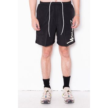 Stussy Smooth Stock Water Short In Black