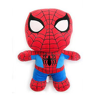 "Exclusive Universal Studios Marvel Super Hero Island : 9"" Super Deformed Spiderman Plush Toy Figure"