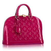 DCCK Louis Vuitton LV Women Shopping Bag Leather Tote Handbag Satchel Bag