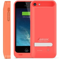 iPhone SE/5C/5S/5 Battery Case, Alpatronix® [BX120plus] 2400mAh MFi Certified Removable Extended Rechargeable Protective Charging Case [Full Compatible Support with iOS 9+ & Apple Pay, Ultra-Slim, Ultra-Portable External Charger Case / Fits all versions of