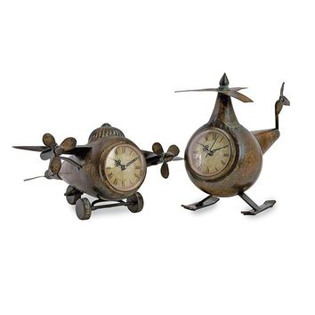 Aviation Clocks - Set of 2