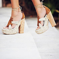 Free People High Society Heel