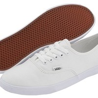 Vans Authentic™ Lo Pro True White/True White - Zappos.com Free Shipping BOTH Ways