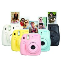 Genuine Fuji Mini 8 Camera Fujifilm Fuji Instax Mini 8 Instant Film Photo Camera 5 Colors Fujifilm mini films 3 inch Photo Paper