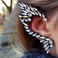 Elf Diamante Ear Cuff