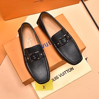 LV Louis Vuitton 2021 Men Fashion Boots fashionable Casual leather Breathable Sneakers Running Shoes0525em