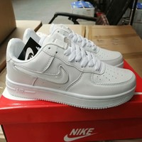 """""""Nike Air Force 1"""" Unisex Casual Fashion Jelly Low Help Plate Shoes Couple Sneakers"""
