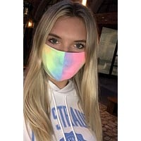 P&M Neon Tie Dye Face Masks