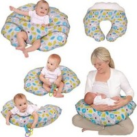 Cuddle-U Nursing Pillow and More, Jungle