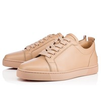 Best Online Sale Christian Louboutin Cl Louis Junior Men's Flat Nu Leather 13s Shoes 1130548n046