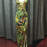 Queen of the Jungle Maxi Dress