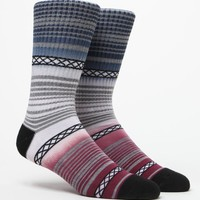 Dip-Dyed Camp Blanket Crew Socks