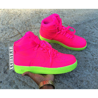 Wet Willies - Nike Air Force 1's High