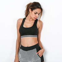 Bralette Hot Comfortable Sexy Beach Stylish Sleeveless Tops Summer Quick Dry Crop Top Sports Vest [11475813510]