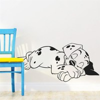 Dalmatian Dog Wall Decal