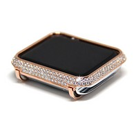 Apple Watch Face 18K Rose Gold Crystal