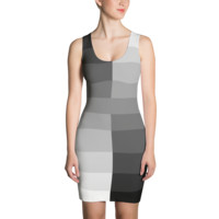 50 Shades of Grey Fitted Dress