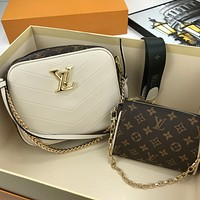 lv louis vuitton women leather shoulder bags satchel tote bag handbag shopping leather tote crossbody 292