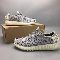 Adidas X Yeezy 350 Boost Oxford Tan Fashion Casual Coconut Unisex Sneakers Couple Running Shoes