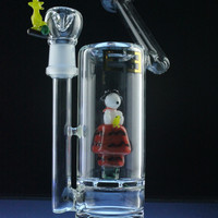 """Empire Glassworks """"Red Baron"""" Sidecar Waterpipe"""