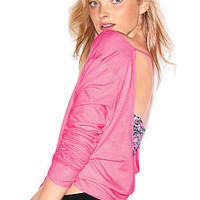Long Sleeve Low Back Tee - Victoria's Secret