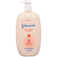 Johnson & Johnson Honey Apple Baby Wash - 28 Ounce