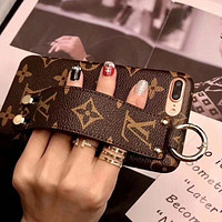 LV Louis Vuitton Fashion Print iPhone Phone Cover Case For iphone 6 6s 6plus 6s-plus 7 7plus iPhone X XR XS XS MAX
