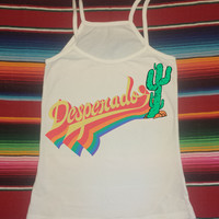 Desperado Cactus 70s Retro Cami Tank Top