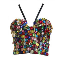 1991 Dolce & Gabbana 'Le Pin Up' jewelled bustier corset