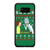 Rick And Morty Get Schwifty Samsung Galaxy S8 Case