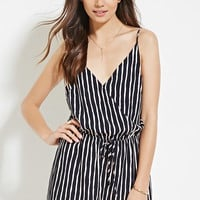 Contemporary Stripe Romper