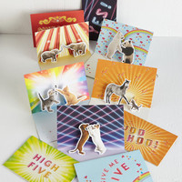 Quirky Way to Be! Notecard Set by Chronicle Books from ModCloth