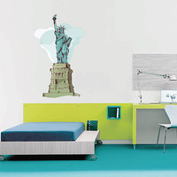 kcik192 Full Color Wall decal America Statue of Liberty New York City children's bedroom