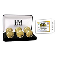 Pittsburgh Steelers 6-time Super Bowl Champions Gold Game Coin Set