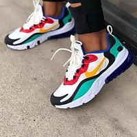 NIKE AIR MAX 270 REACT Gym shoes women man Shoes