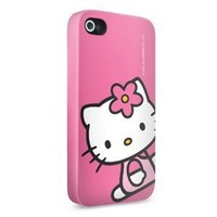 Skinit Skinit Hello Kitty Sitting Pink Slim Case for Apple iPhone 4 4S iPhone 4 / 4S Slim Cases Accessory