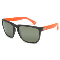 Electric Knoxville Xl Sunglasses Mod Warm Red/Melanin Grey/Silver Chrome One Size For Men 23848330001