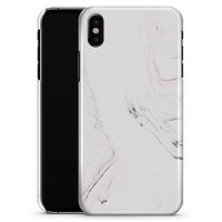 Pink 10 Textured Marble - iPhone X Clipit Case