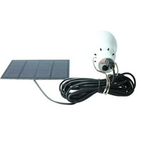 Outdoor Camp Light Portable Solar Power LED Bulb Lamp Outdoor Lighting Camp Tent Fishing Lamp BS