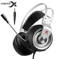 Xiberia K1 3.5mm Gaming Headset for PS4 New Xbox One Gamepad USB 7.1 PC Games Headphones for Computer Laptop With Microphone