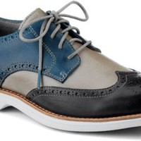 Sperry Top-Sider Gold Cup Bellingham ASV Wingtip Oxford DarkGray/BlueLeather, Size 15M  Men's Shoes