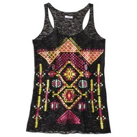 Xhilaration® Juniors Festival Graphic Tank - Assorted Colors