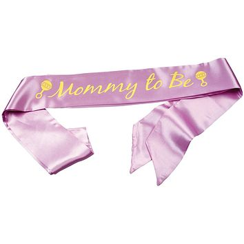 Mommy-To-Be Baby Shower Sash