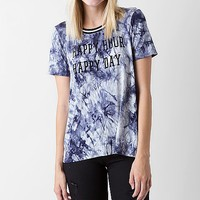Women's Happy Hour T-Shirt in Blue by Daytrip.