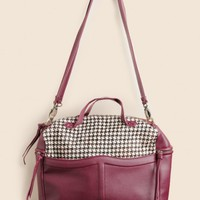 A Fine Day Houndstooth Purse
