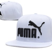 Hot PUMA Embroidered Adjustable Snapback Outdoor Baseball Cap Hats