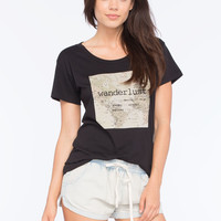 LIRA Wanderlust Womens Boyfriend Tee | Graphic Tees & Tanks