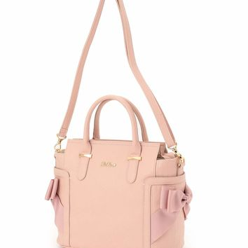 LIZ LISA Side Ribbon Tote Bag